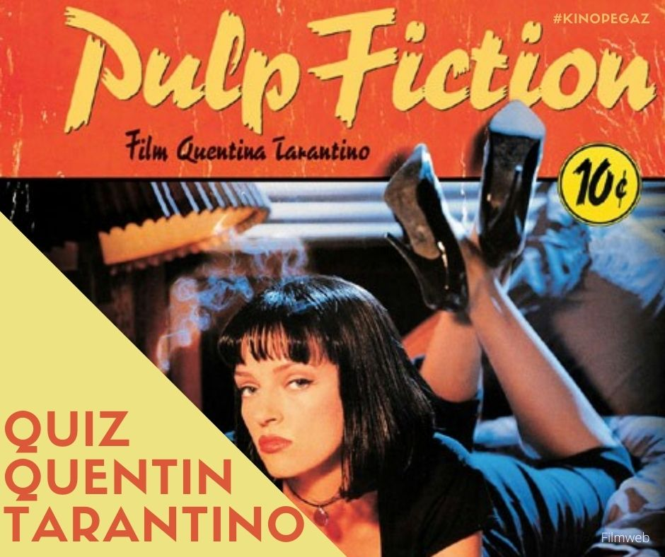 "Grafika: plakat z filmu ""Pulp Fiction"""
